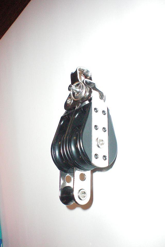 Bootsbeschläge : Block, 29 mm, zweifach, Hundsfott