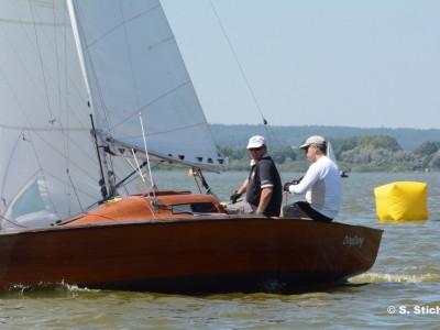 15qm Jollenkreuzer (P-Boot) 2302-5 - Fotografin Sabine Stich