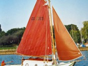 Holländisches Plattbodenboot  2501-3